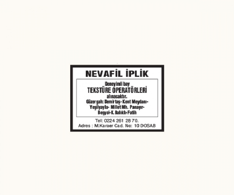 NEVAFİL TEKSTİL