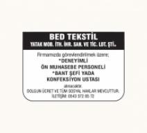 BED TEKSTİL