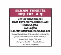 ELVAN TEKSTİL